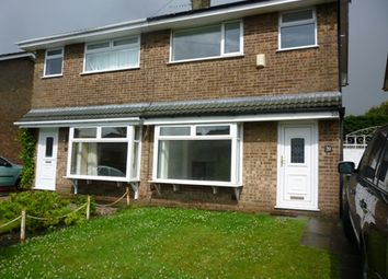 Thumbnail 3 bed semi-detached bungalow to rent in Yellow Lodge Drive, Westhoughton