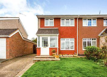 Thumbnail 3 bed semi-detached house for sale in Longmead Way, Tonbridge, Kent