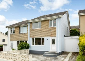 Thumbnail 3 bed semi-detached house to rent in Treryn Close, St Blazey, Par, Cornwall