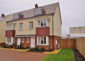 Thumbnail 4 bedroom semi-detached house for sale in Essella Road, Ashford