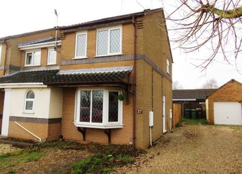 Thumbnail 2 bed semi-detached house for sale in Ridgewell Close, Lincoln