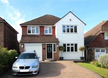 Thumbnail 4 bed detached house to rent in Heathcote Drive, East Grinstead, West Sussex