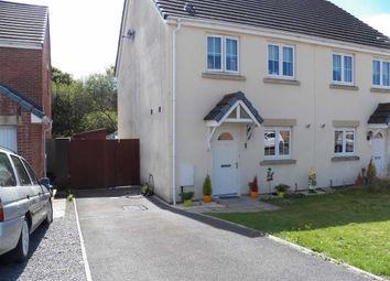 Thumbnail 3 bed semi-detached house for sale in Cwrt Lando, Pembrey, Burry Port
