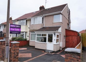 Thumbnail 3 bed semi-detached house for sale in Kirkway, Greasby