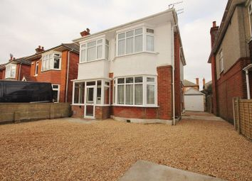Thumbnail 4 bed detached house to rent in Vicarage Road, Moordown, Bournemouth