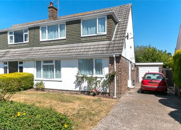 Thumbnail 4 bed semi-detached house for sale in South Western Crescent, Lower Parkstone, Dorset