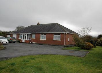 Thumbnail 4 bed detached bungalow for sale in Rhos, Llandysul, Carmarthenshire