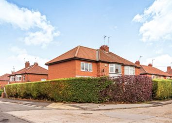 Thumbnail 4 bed semi-detached house for sale in Caxton Avenue, York