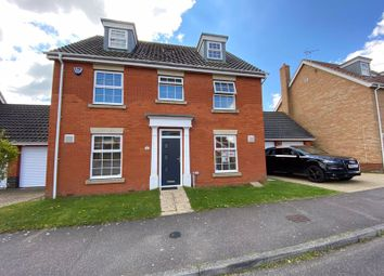Thumbnail 5 bed detached house for sale in Rushton Drive, Carlton Colville, Lowestoft