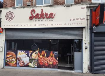 Thumbnail Restaurant/cafe for sale in Coventry Road, Birmingham