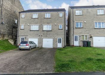 Thumbnail 3 bed town house for sale in The Riverside, Linthwaite, Huddersfield