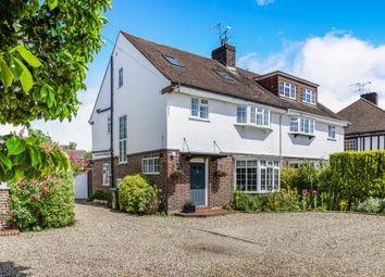 Thumbnail 5 bed semi-detached house for sale in Stoke D'abernon, Cobham, Surrey