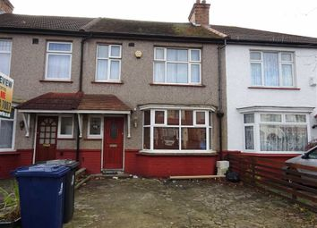 Thumbnail 3 bed terraced house to rent in Kings Avenue, Greenford