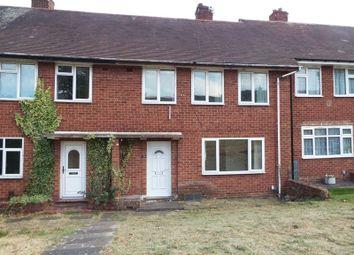 3 bed terraced house to rent in Quinton Road, Harborne, Birmingham B17