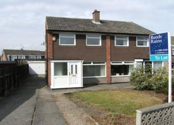 Thumbnail 2 bed semi-detached house to rent in Kentmere Avenue, Garforth, Leeds