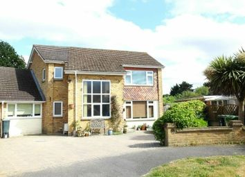 Thumbnail 4 bed detached house for sale in Barnsford Crescent, West End, Woking