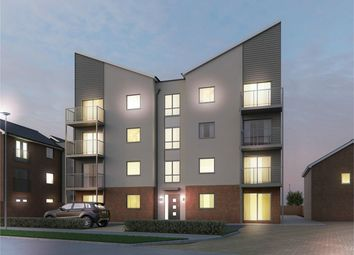 Thumbnail 2 bed flat for sale in Newhart House, Holmans Place, Bicester Road, Aylesbury, Buckinghamshire
