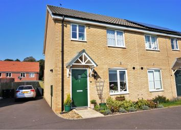 Thumbnail 3 bed semi-detached house for sale in Adland Road, Carbrooke