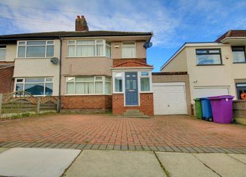Thumbnail 3 bed semi-detached house for sale in Barnhurst Road, Childwall, Liverpool