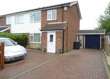 Thumbnail 3 bed semi-detached house to rent in Clifton Way, Hinckley