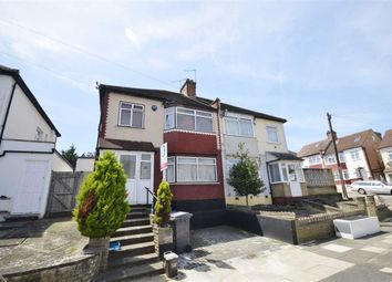 Thumbnail 3 bed semi-detached house to rent in Fernwood Crescent, London