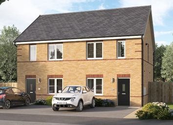 """Thumbnail 3 bed semi-detached house for sale in """"The Culbridge"""" at Chilton, Ferryhill"""