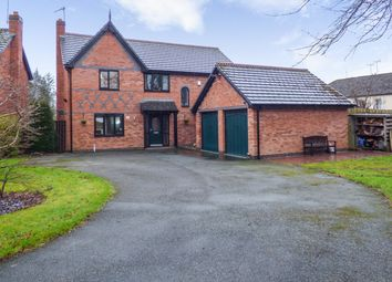 Thumbnail 5 bed detached house for sale in Bedwyr Court, Wrexham, Clwyd