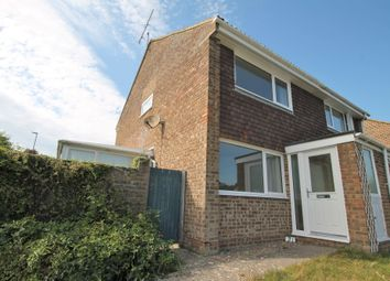 Thumbnail 2 bed semi-detached house for sale in Chanctonbury Drive, Shoreham-By-Sea