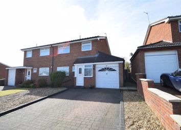 Thumbnail 3 bed semi-detached house for sale in Kylemore Drive, Heswall, Wirral
