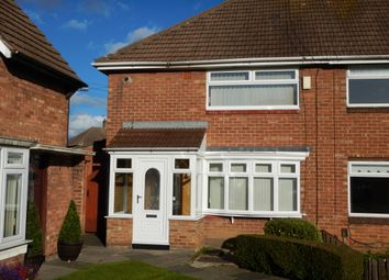 Thumbnail 2 bed semi-detached house to rent in Clovelly Road, Hylton Castle, Sunderland