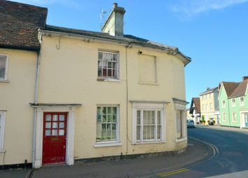 Thumbnail 2 bedroom terraced house for sale in Well Lane, Clare, Sudbury