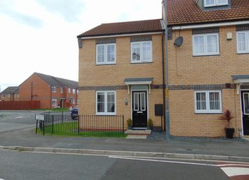 Thumbnail 3 bed end terrace house to rent in Gardenia Way, Billingham