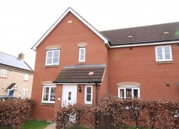 Thumbnail 3 bed end terrace house for sale in Charolais Drive, North Petherton, Bridgwater