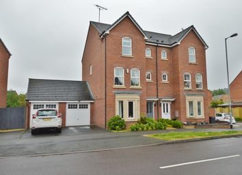 Thumbnail 5 bed semi-detached house for sale in Colliers Way, Huntington, Cannock