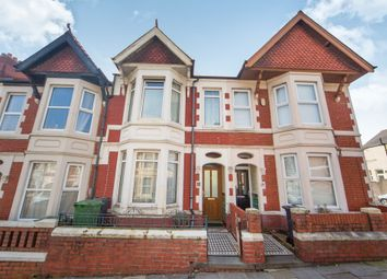 Thumbnail 3 bed terraced house for sale in Lisvane Street, Cathays, Cardiff