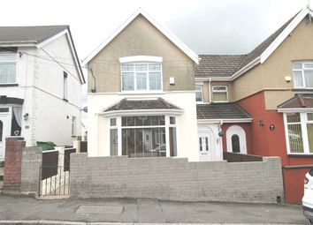 Thumbnail 4 bed semi-detached house for sale in Alfred Street, Gilfach Goch, Porth