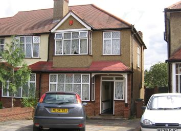 Thumbnail 3 bed end terrace house to rent in Stoneleigh Avenue, Worcester Park