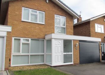 Thumbnail 3 bed detached house to rent in Christchurch Close, Edgbaston, Birmingham