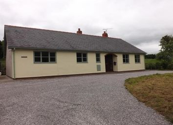 Thumbnail 3 bed detached bungalow to rent in Ffordd Y Graig, Lixwm, Holywell