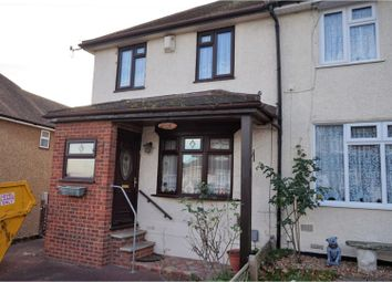 Thumbnail 3 bed semi-detached house for sale in Woodstock Road, Rochester