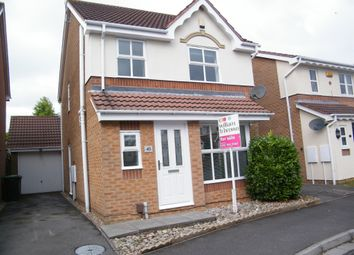 Thumbnail 3 bed detached house for sale in Oakham Drive, Selston, Nottingham