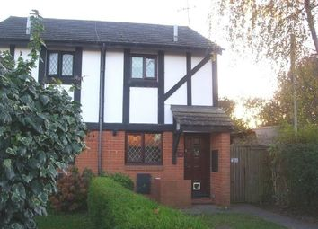 Thumbnail 1 bedroom end terrace house to rent in Huntsman Drive, Kings Acre, Hereford