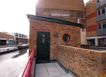 Thumbnail 1 bedroom cottage for sale in Wharf Place, London