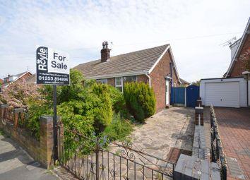 Thumbnail 2 bedroom semi-detached bungalow for sale in 36 Ledbury Road, Normoss, Blackpool, Lancs