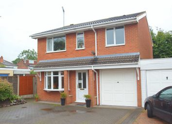 Thumbnail 4 bed link-detached house for sale in Packwood Close, Webheath, Redditch, Worcs.