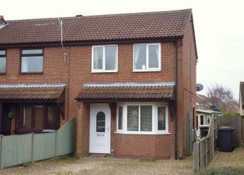 Thumbnail 2 bed semi-detached house for sale in Meadow Way, Bracebridge Heath, Lincoln