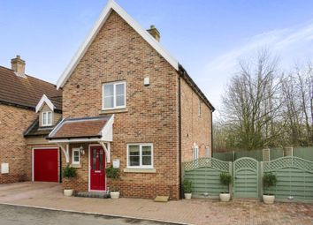 Thumbnail 4 bedroom link-detached house for sale in Larks Place, Norwich Road, Dereham