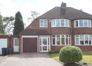 Thumbnail 3 bed semi-detached house for sale in Halton Road, Sutton Coldfield