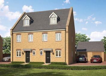 Thumbnail 3 bedroom semi-detached house for sale in Elms Croft, Rodbridge Hill, Long Melford, Sudbury