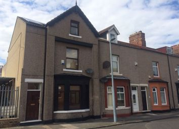 Thumbnail 4 bedroom terraced house for sale in Warwick Street, Middlesbrough